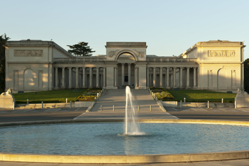 Entrada para o Museu da Legion of Honor