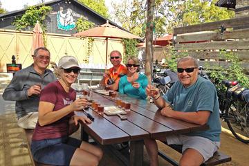 Paseo en bicicleta por la fábrica de cerveza del condado de Sonoma