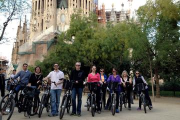 Barcelona Electric Bike Tour, La Sagrada Familia