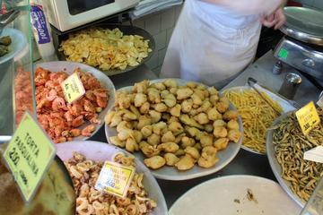 Ancient Tastes of Genoa Including Food and Drink Samples