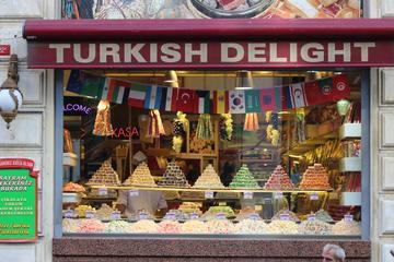 Recorrido gastronómico a pie por Estambul al atardecer