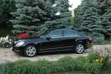 Budapest Airport Private Business Transfer - Mercedes E-Class