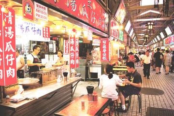 Sortie privée en soirée marché et gastronomie dans Taipei