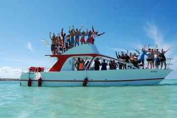Adventure Combo: Party Boat Cruise & Parasailing