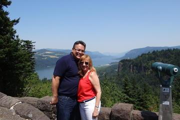 Excursion aux Chutes de Multnomah et à la gorge du Columbia au départ...