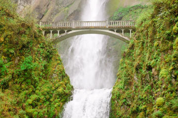 Day Trip Portland Combo: Hop-On Hop-Off Sightseeing Trolley and Columbia River Gorge Tour near Portland, Oregon