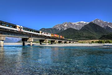 TranzAlpine- Christchurch to Greymouth by Train