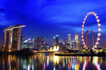 Excursão noturna com várias paradas por Cingapura