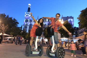 Segway-tour Madrid bij nacht