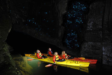 Evening Glow Worm Kayak Tour in...