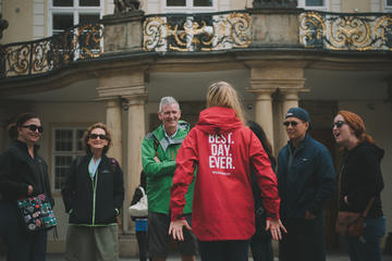 Small-Group Prague City Walking Tour Including Vltava River Cruise and Lunch