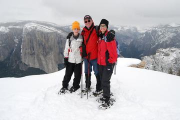 Geführte Schneeschuh Wanderung im Yosemite Nationalpark