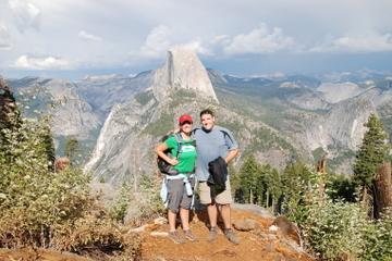 Yosemite Yoga Wanderung