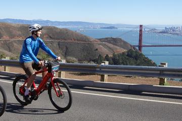 Parcourez le pont du Golden Gate en vélo: de San Francisco jusqu'à...
