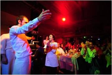 Zarzuela-Oper und Abendessen im Restaurant La Castafiore in Madrid