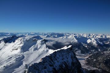 Zugspitze and Garmisch-Partenkirchen from Füssen