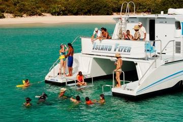 Excursion d'une journée à Culebra en catamaran au départ de Fajardo