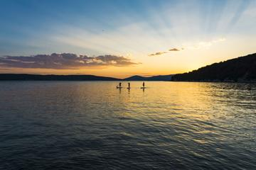 Sunset Stand Up Paddling tour a