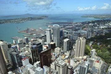 Passeio de helicóptero em Auckland