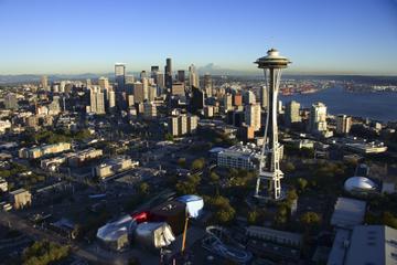 Voo de hidroavião por Seattle: Destaques da zona portuária