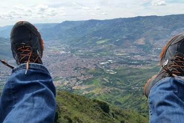Private Medellin Paragliding and Christmas Lights