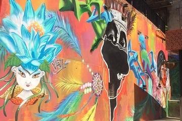 Recorrido de arte callejero en...