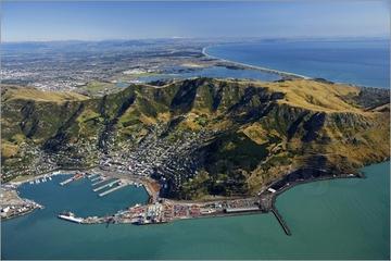 Visita en helicóptero por Christchurch