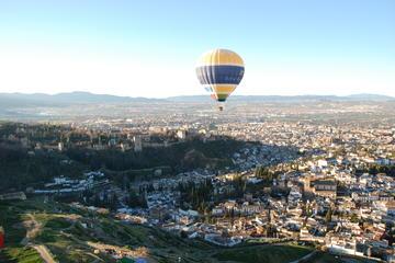 Ballonvaart boven Granada