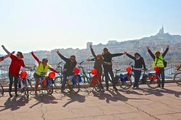 Excursion sur le littoral de Marseille: tour privé en vélo électrique