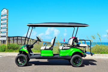 Book 4 Hour Golf Cart Rental (6 passenger) on Viator
