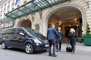 Transfert de départ partagé de Paris à l'aéroport CDG
