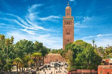 Marrakesh-medinawandeltocht inclusief het Bahiapaleis en het ...