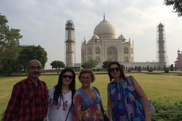Taj Mahal Sunset & Sunrise Tour...