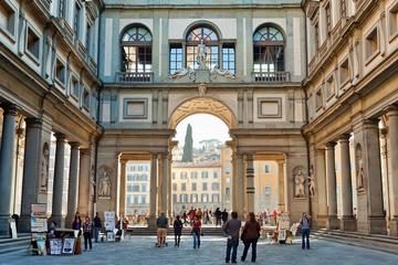 THE WONDERS OF FLORENCE: UFFIZI GALLERY and WALKING TOUR