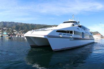 Servicio de ida y vuelta en ferry...