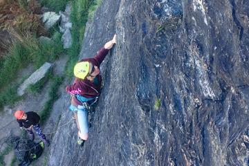 Lead Climbing Wanaka - Full Day
