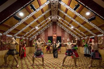 Maori Cultural Performance and Geyser Experience from Rotorua