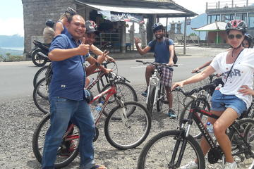 Batur Cycling Down Hill combined with Ubud Goa Gajah Waterfall Tegenungan Tour