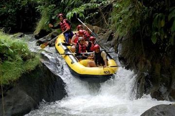 Ubud Ayung River Rafting Uluwatu Fire SunsetTour