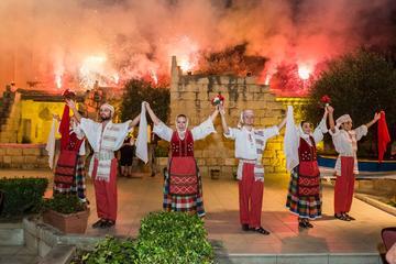 Espectáculo de folclore maltés y cena