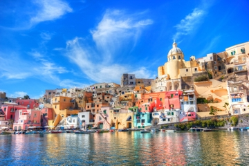 Aventura de barco pelo sul da Itália...
