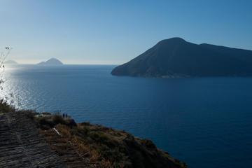 Escursione di un giorno delle Isole Eolie da Taormina: Lipari e