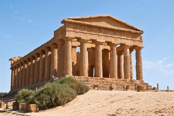 Excursión de un día al Valle de los templos y Villa romana del Casale...