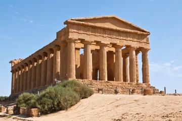 viagem de um dia ao Vale dos Templos e Villa Romana del Casale saindo...