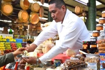 Spaziergang zu den lokalen Lebensmittelmärkten von Mexiko City