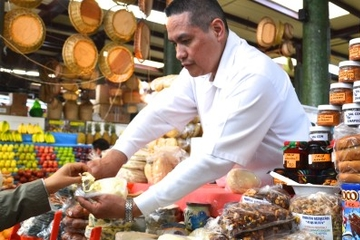 Tour à pied des marchés locaux et spécialités à Mexico