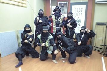 Ninjaschool: ninja voor een dag