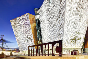 Titanic Belfast Entrance Ticket: Titanic Visitor Experience