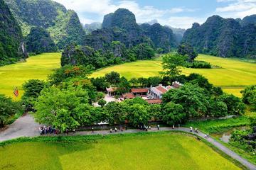 Altes Ninh Binh: Ganztagserkundung mit Bootsfahrt nach Tam Coc ab...