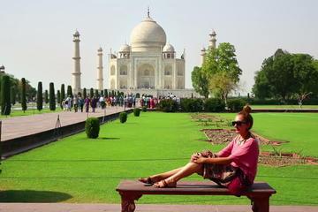 Luxury Taj Mahal Agra Tour by Ultra Luxury car